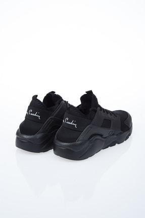 Pierre Cardin Erkek Günlük Spor Ayakkabı-siyah 3
