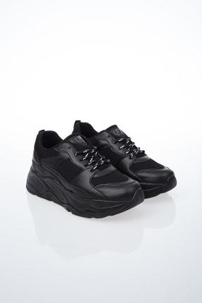Pierre Cardin Kadın Günlük Spor Ayakkabı-siyah Pc-30061 2