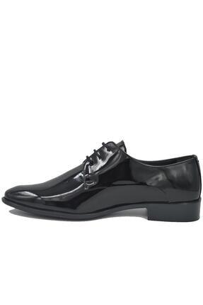 Pierre Cardin 70pc10 Siyah Rugan Erkek Klasik Ayakkabı 2