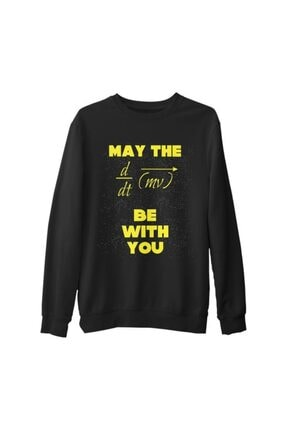 Lord T-Shirt Erkek Siyah Star Wars - The Force Kalın Sweatshirt 0