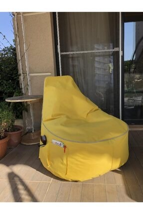 Pufumo Sarı Golf Armut Koltuk 0
