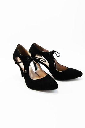 Kadın Rengi Şık Topuklu Ayakkabı BAYTOPSIYAH