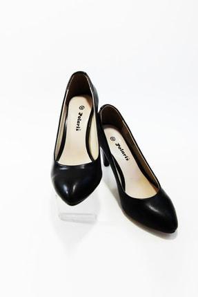 Kadın Siyah Topuklu Ayakkabı BAYPOLSIY