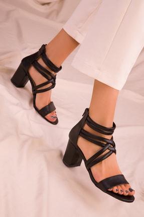 Soho Exclusive Sıyah Kadın Klasik Topuklu Ayakkabı 14670 2