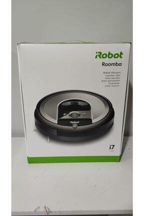 iRobot Roomba I7 Açık Gri Robot Süpürge Outlet - Distribütör Garantili 0
