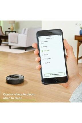 iRobot Roomba I7 Açık Gri Robot Süpürge Outlet - Distribütör Garantili 4