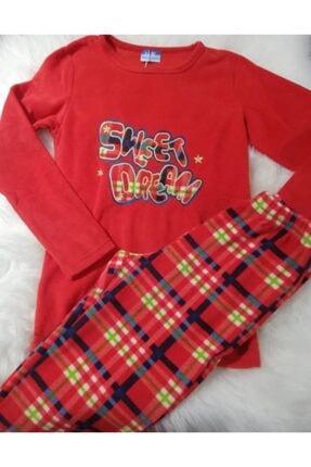 Haluk Bayram Ba Ha Polar Pijama Takımı Kırmızı 1