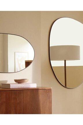 LYN HOME & DECOR Büyük Boy Asimetrik Dekoratif Ayna 3