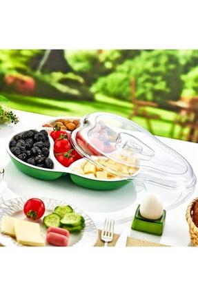 Breakfast Box 4 Bölmeli Kahvaltılık & Piknik Seti & Kahvaltı Takımı & Kahvaltı Seti DC-605