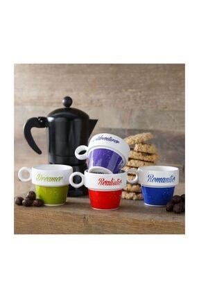 Mudo Concept Colorful Espresso Seti 4'lü 105ml 1