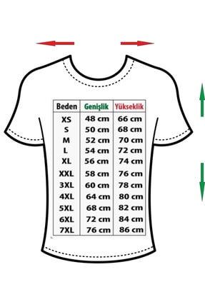 NVM Tekstil Unisex Kadın-erkek Just Do It Tasarım Beyaz Yuvarlak Yaka T-shirt 2