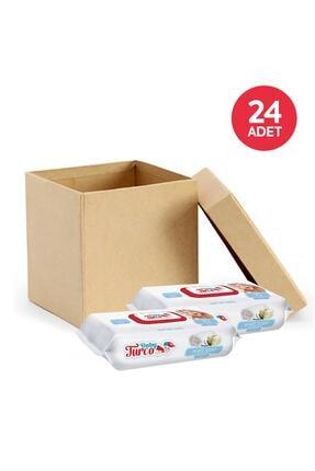 Baby Turco Beyaz Sabun Kokulu Islak Havlu 24X90 Lı 1