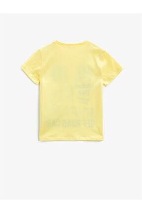 Koton Erkek Çocuk Sarı T-Shirt 1