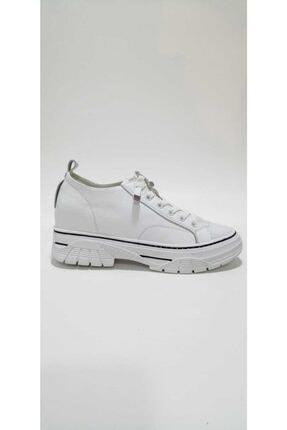 Guja Kadın Beyaz  Gizli Dolgu Topuklu Spor Ayakkabı 0