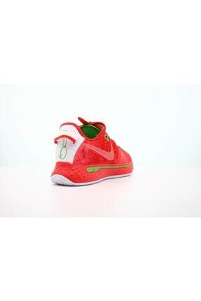 Nike Unisex Kırmızı Basketbol Ayakkabısı Pg4 2