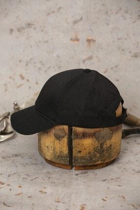 ÜN ŞAPKA Siyah Şapka - Ayarlanabilir Kep 2
