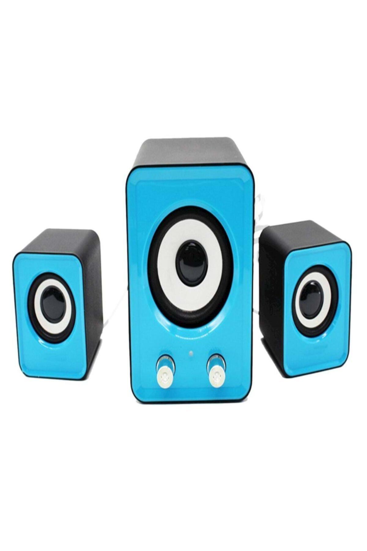 Speaker Ekstra Bass Hoparlör Ses Sistemi 2+1 Pc Bilgisayar