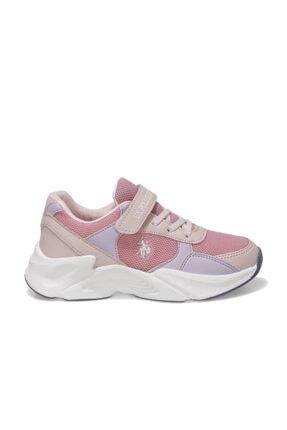 US Polo Assn PEJA Pembe Kız Çocuk Koşu Ayakkabısı 101006268 1