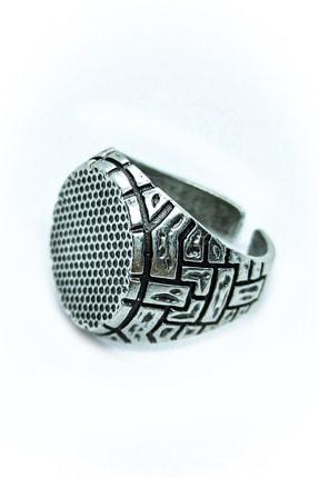 Loyal Çukur Dizi Gümüş Kaplama Erkek Yamaç Yüzüğü 2