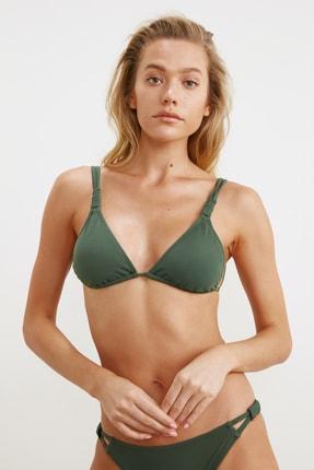 TRENDYOLMİLLA Yeşil Askı Detaylı Bikini Üstü TBESS21BU0194 1