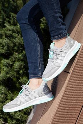 Muggo Unisex Gri Sneaker Ayakkabı Mgforce01 0