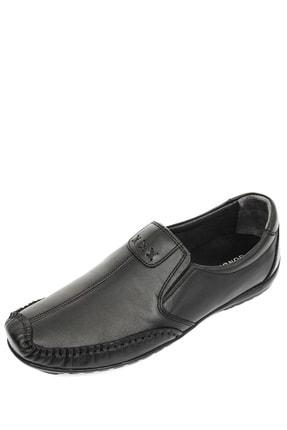 GÖNDERİ(R) Hakiki Deri Siyah Erkek Günlük (Casual) Ayakkabı 01612 2