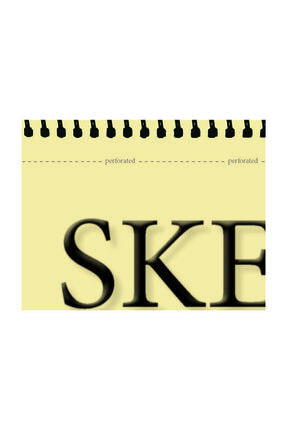FOLİX ART Eskiz Defteri 90 Gr A5 100 Yaprak Spiralli Ivory Sketchbook 2