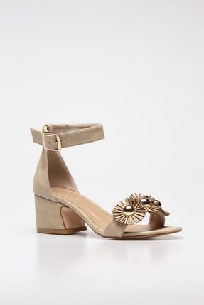 Rovigo Bej Kadın Klasik Topuklu Ayakkabı 11110389376-03 2