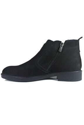 Twom Shoes Erkek Siyah Hakiki Nubuk Deri Klasik Bot 2
