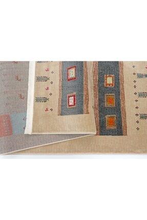 Nakka Halı Renkli Eskitme Vıntage Koleksiyon Halı  Al26a 2