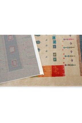 Nakka Halı Renkli Eskitme Vıntage Koleksiyon Halı  Al26a 3