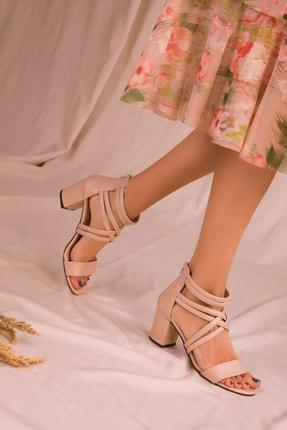 Soho Exclusive Ten Kadın Klasik Topuklu Ayakkabı 14670 1