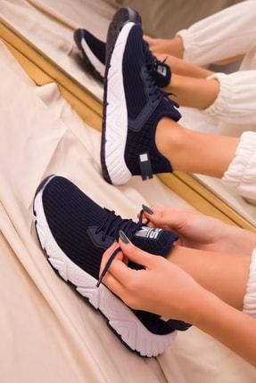 Soho Exclusive Lacivert Kadın Sneaker 15772 2