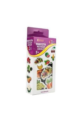 Taba Grup Manyetik Meyve Ve Sebzeler Mıknatıslı 26 Parça 1