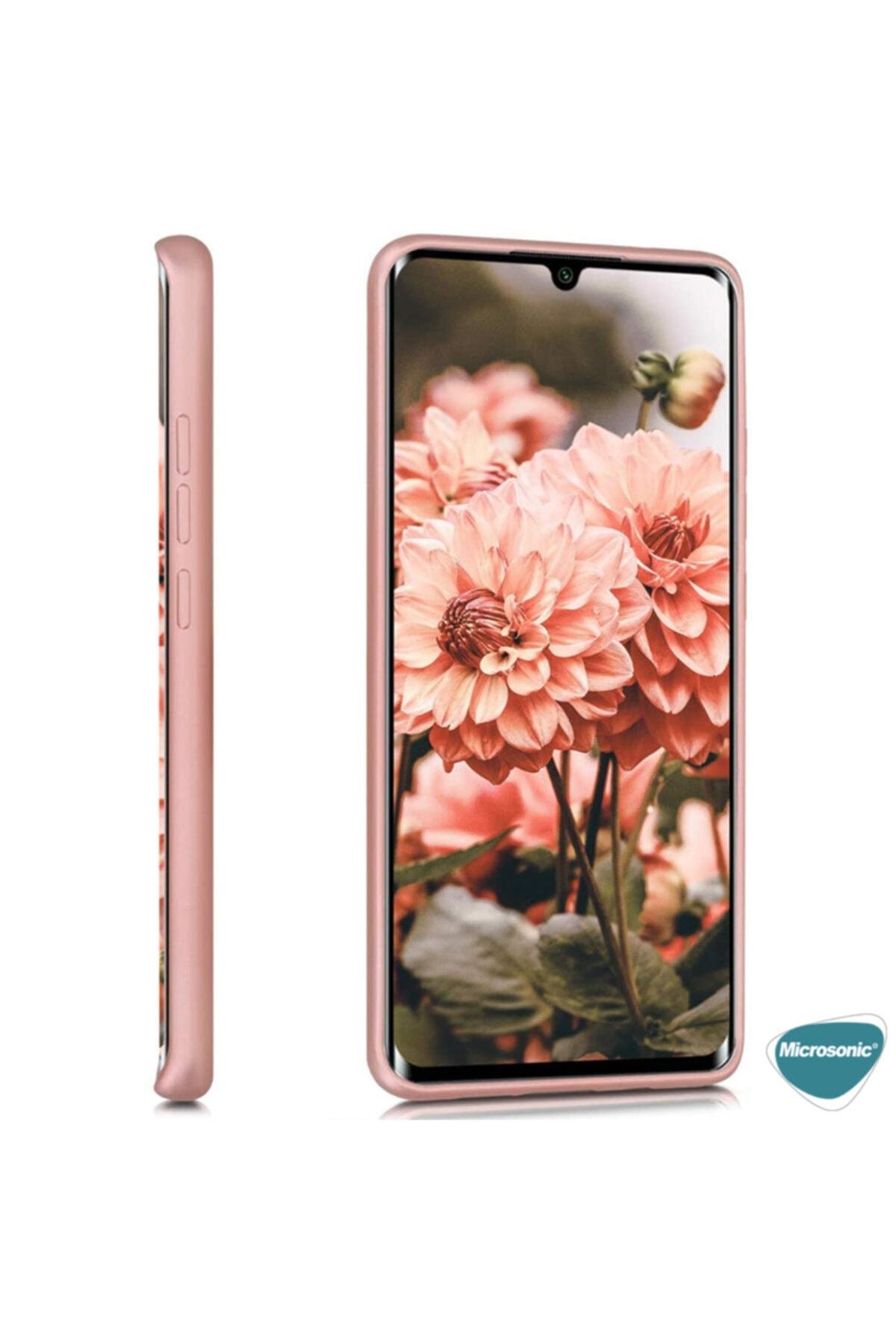Xiaomi Microsonic Matte Silicone Mi Note 10 Lite Kılıf Mor