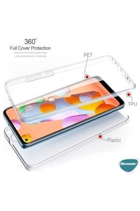 Samsung Microsonic Galaxy A11 Kılıf 6 Tarafı Tam Full Koruma 360 Clear Soft Şeffaf 1