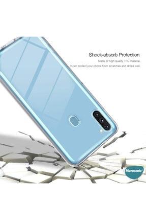 Samsung Microsonic Galaxy A11 Kılıf 6 Tarafı Tam Full Koruma 360 Clear Soft Şeffaf 4