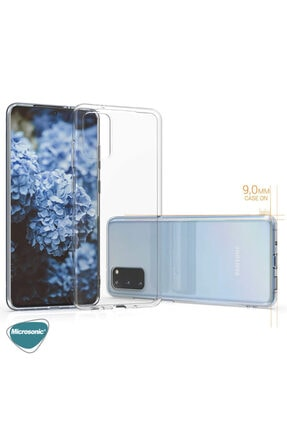 Samsung Microsonic Galaxy S20 Kılıf Transparent Soft Beyaz 3