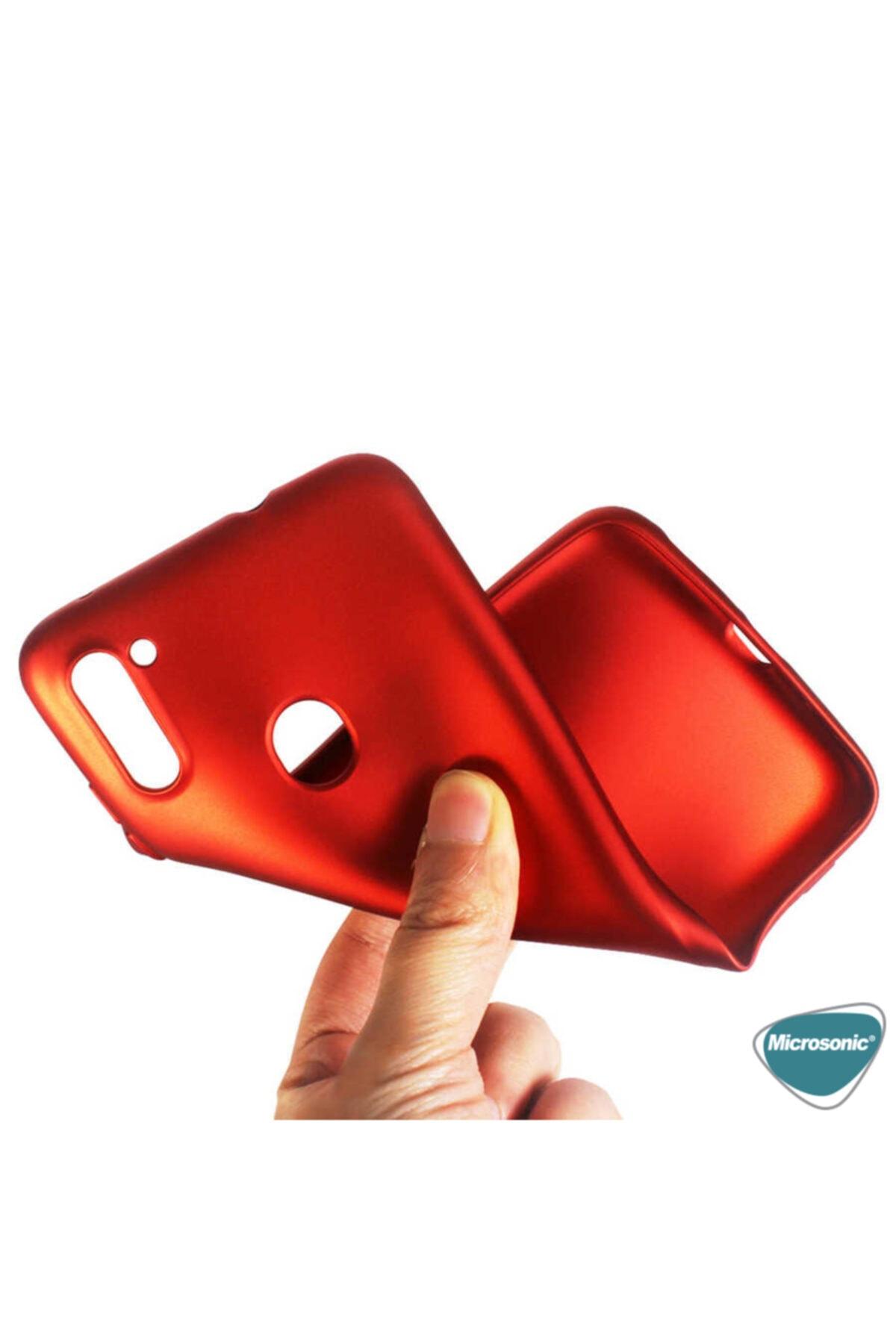 Samsung Microsonic Matte Silicone Galaxy A11 Kılıf Rose Gold