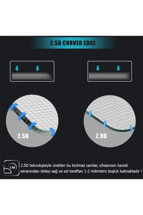 Huawei Microsonic Mediapad T5 10'' Temperli Cam Ekran Koruyucu 2
