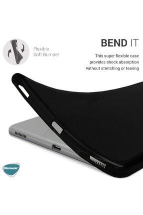 "Samsung Microsonic Galaxy Tab A 8"" 2019 T290 Kılıf Glossy Soft Siyah 3"
