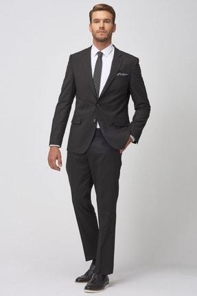 Altınyıldız Classics Erkek Regular Fit Siyah Takım Elbise 1