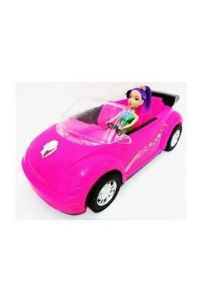 DLN 36 Cm Barbie Arabası Pembe King Toys Evcilik Kız Oyuncak 2