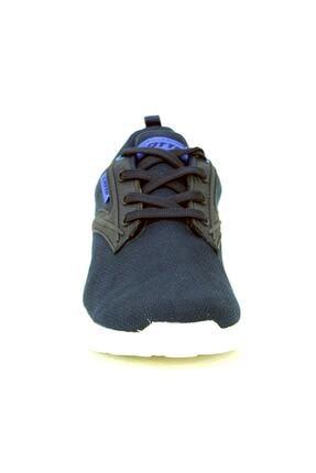 Lotto Erkek Spor Ayakkabısı - Floric Lacivert Bej  - S5021 4