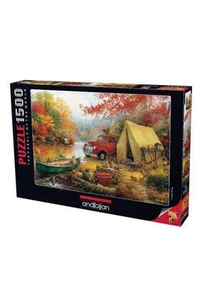 Anatolian Puzzle Anatoli?an Kamp Arkadaşları 1500 Parça Puzzle 4540 60x85 1
