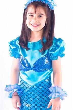 OULABİMİR Deniz Kızı Kostümü Çocuk Kıyafeti 1