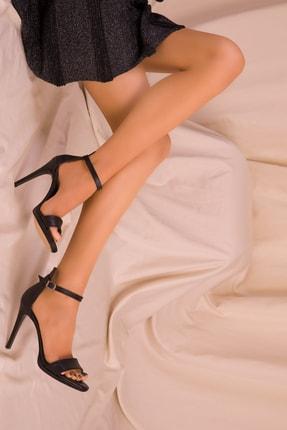 Soho Exclusive Siyah Kadın Klasik Topuklu Ayakkabı 14530 1