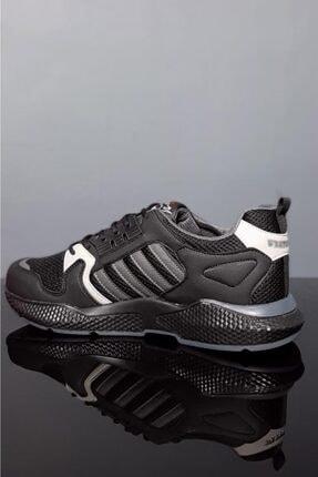 Moda Frato Unisex Siyah Gri Spor Ayakkabı Wn 4031x 2