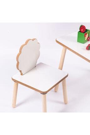 HESA Yumurcak Ağaç Masa Sandalye Takımı 4