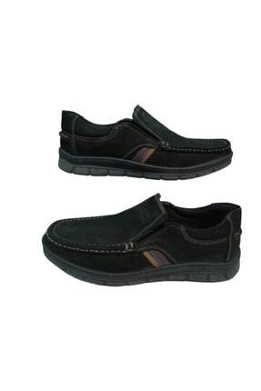 R768-10 Siyah Beta Deri Ayakkabı